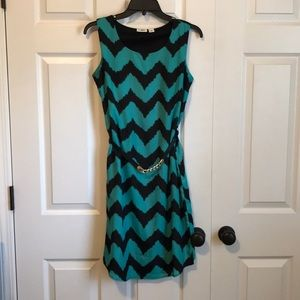 CATO Chevron Dress